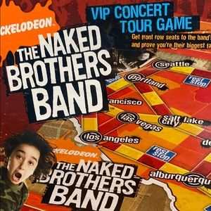 Nickelodeon The Naked Brothers Band The Video Game